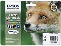 Genuine Epson T1285 Multipack Ink Set