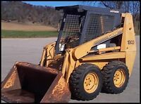 WANT TO RENT SKID STEER (Bobcat)