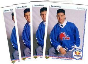 OWEN NOLAN .... ROOKIE CARD .... 1990-91 Upper Deck hockey cards