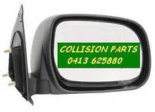 TOYOTA HILUX 2005 TO 2015 DOOR MIRROR MANUAL DRIVER SIDE NEW Florey Belconnen Area Preview