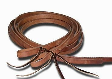 Heavy Weight Hermann Oak Harness Leather Driving Horse Reins