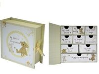 Baby Gift Keepsake Box Large. Gorgeous gift all brand new boxed.