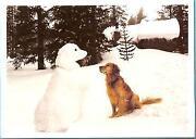 Golden Retriever Christmas Cards