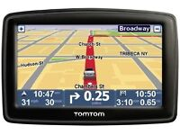 "Tomtom xxl 5"" inch screen with uk&Europe maps/ accessories"