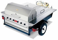 Barbecue Grill trailer Tailgate Barbecue BBQ remorque