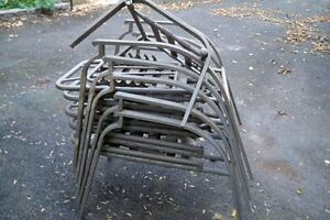 5 Adjustable Patio Chairs - Excellent condition!