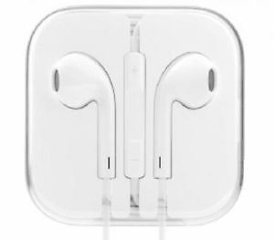 Authentic APPLE EarPods With Remote & Mic - New in Box