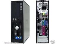 Windows 7 Dell Dual Core Desktop Tower PC Computer - 4GB RAM - 160GB HDD
