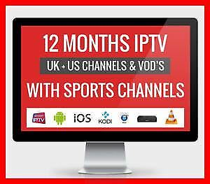 IPTV HINDI URDU PUNJABI ENGLISH TV $120/YEAR