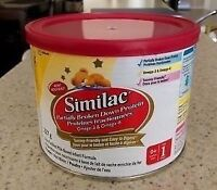 Similac partially broken down 9 cans (227g) Exp April /may 2016