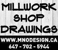 Millwork Shop Drawings & Drafting