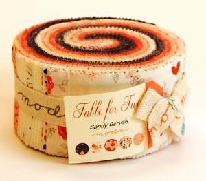 40 jelly roll fabrics