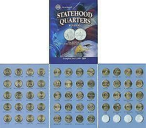 State Quarters EBay - Us map for collecting quarters