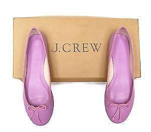 727754f7720 J. Crew Classic Leather Ballet Flats
