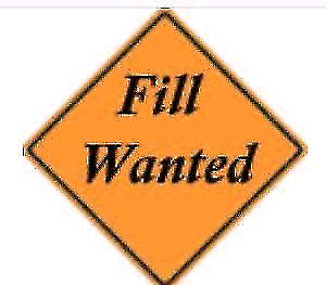 Clean free fill wanted