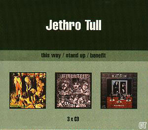 Jethro Tull-cd x 3(This Was,Stand Up,Benefit)Box set/U.K import