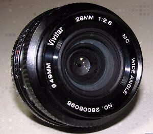 Vivitar 28mm 2.8 monture pentax
