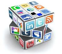 Social Media Marketing SEO for your business website and social
