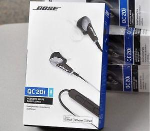 Bose QuietComfort 20i Acoustic Noise Cancelling Headphone Sealed (ANDROID And iPHONES