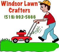Lawn Mowing & Yard Maintenance - Windsor Lawn Crafters