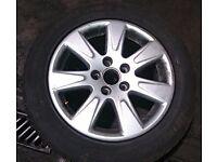 VW Passat x1 Alloy With Tyre 215/16 (2007)