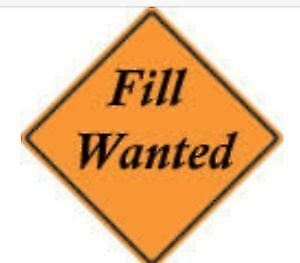 Free clean fill wanted- located across from Sackville Hospital