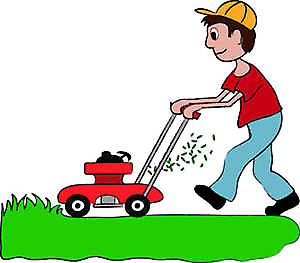 Justin's Lawn Mowing and Yard Services.