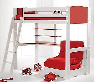 High Sleeper Beds With Futon