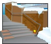Heating,Snow & Ice melting,freeze protection service