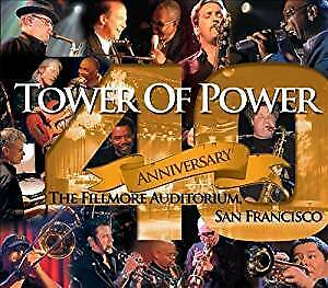 TOWER of POWER band - Special 40th Anniversary CD+DVD - NEW !