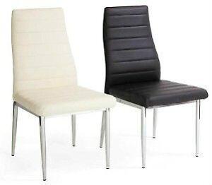 Chaises en cuir de cuisine acheter et vendre dans grand montr al petites - Chaise en cuir a vendre ...
