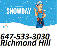 Snow Removal Richmond Hill Services