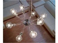 The Lumina Matrix Otto futuristic designer pendant chandelier