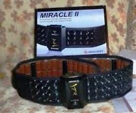 NUGA BEST Miracle II belt massager - excellent condition