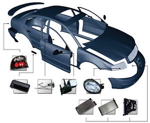 BODY PANELS, BUMPERS, HOODS, FENDERS & GRILLES FOR ALL VEHICLES