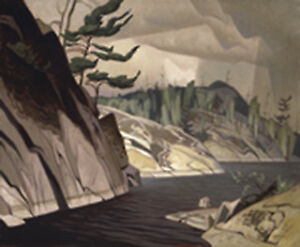 "A.J. Casson Limited Edition ""A Little Bay, La Cloche"""