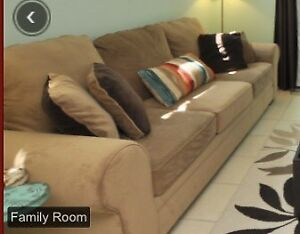 Beautiful big sofa couch - need gone ASAP!