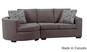 Deal Of the day Sectional with Ottoman Peterborough Peterborough Area image 3