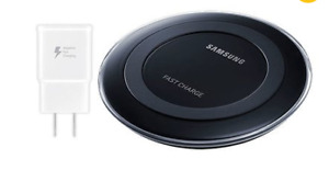 Samsung Wireless Charger with Travel Adapter / Chargeur Sans Fil