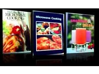 COOKERY BOOKS - SMOOTHIES & JUICES / MICROWAVE COOKING - FOR SALE