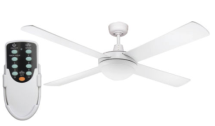 Fan + light + timer remote (BRAND NEW) - Forest Lake 4078