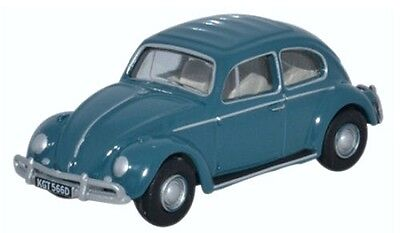 Oxford Die-cast 76VWB007 VW Beetle Gulf Blue 1:76 OO scale Volkswagen