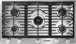NEW DACOR Renaissance Series 36 Inch Gas Cooktop with 5 Burners