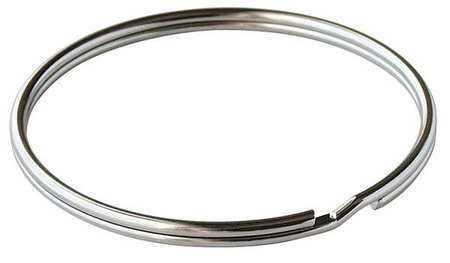 Lucky Line Products 7700010 Split Ring, 2 In Ring Size, Silver