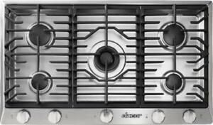 DACOR Renaissance Series 36 Inch Gas Cooktop with 5 Burners