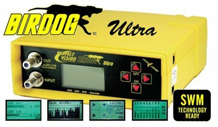 Perfect Vision BIRDOG ULTRA Satellite Signal Level Meter & Finder (BIRDOGULTRA)