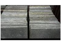 Concrete flag stones 450mm square