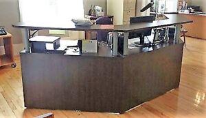 Comptoir de reception usage a vendre comptoire de rÉception
