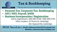Canadian Individual Income tax Return starting $25