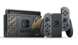NINTENDO SWITCH MONSTER HUNTER RISE CONSOLE
